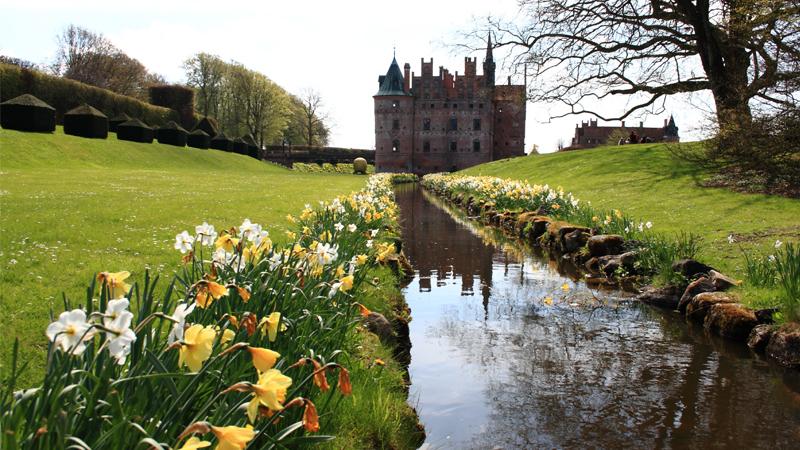 Danska trädgårdar och slott
