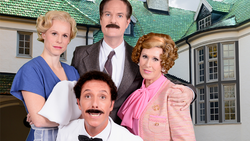 Fredriksdalsteatern - Pang i bygget, Fawlty towers