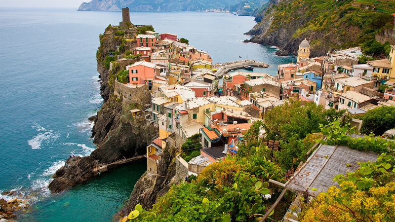Piemonte och Ligurien