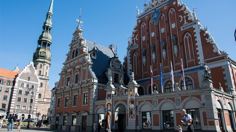 Riga och Tallinn