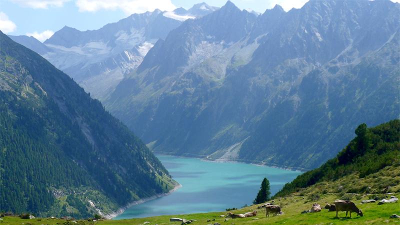 Österrike-Zillerdalen