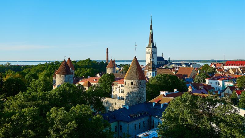 Baltikums huvudstäder
