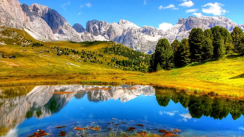 Vackra Dolomiterna