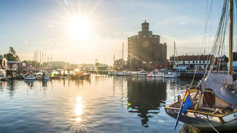 Schleswig-Holstein med vackra Östersjökusten